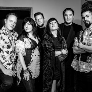 ABJEEZ backstage at (le) poisson rouge, January 2019. Photography by Jonathan McPhail.