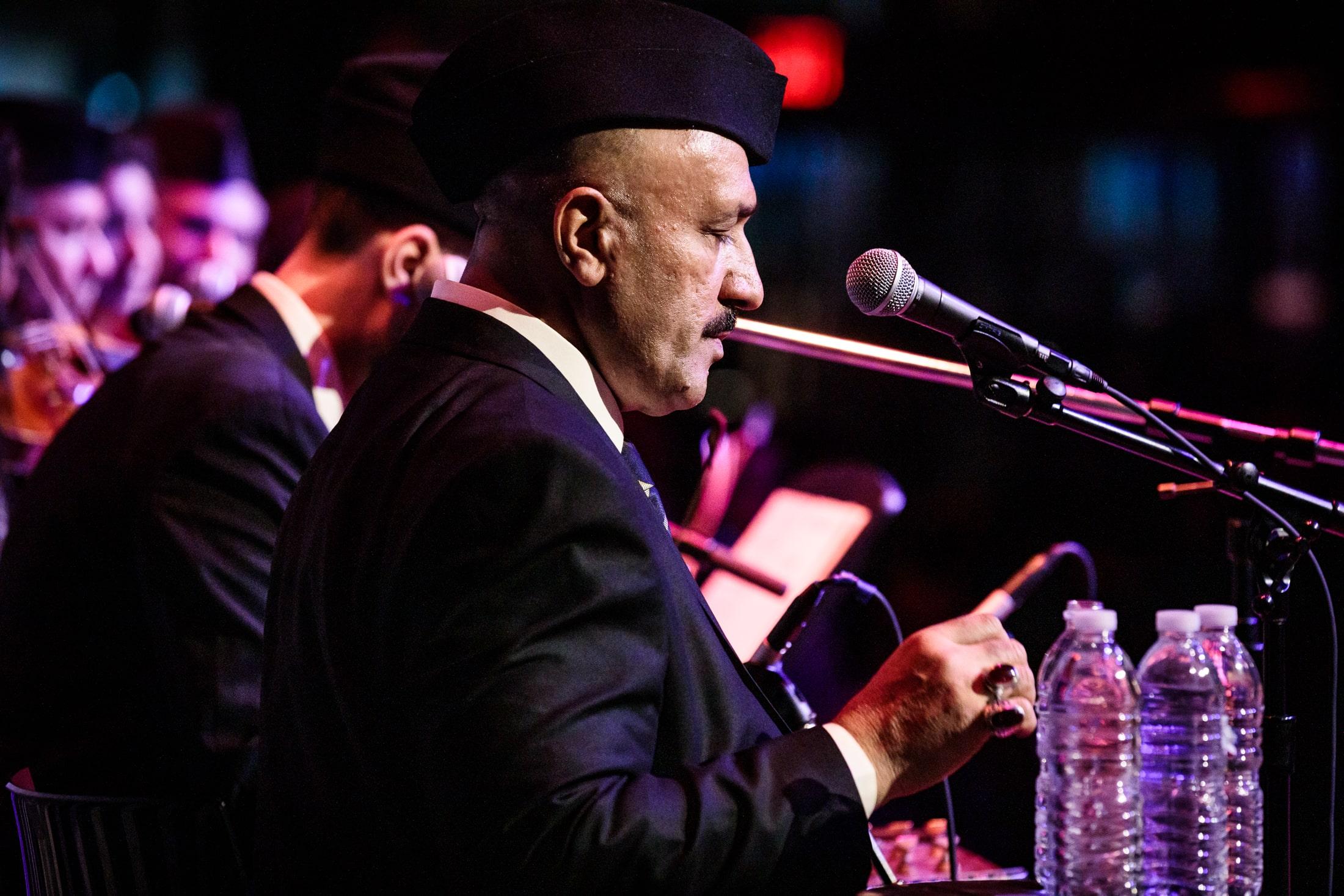 Hamid Al Saadi and Safaafir perform at Lincoln Center, March 2019. Photography by Sachyn Mital.